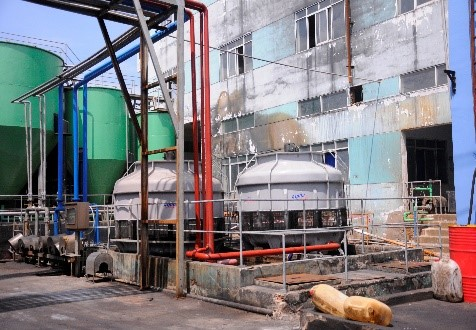 Dirty water and fluid wastes treatment system